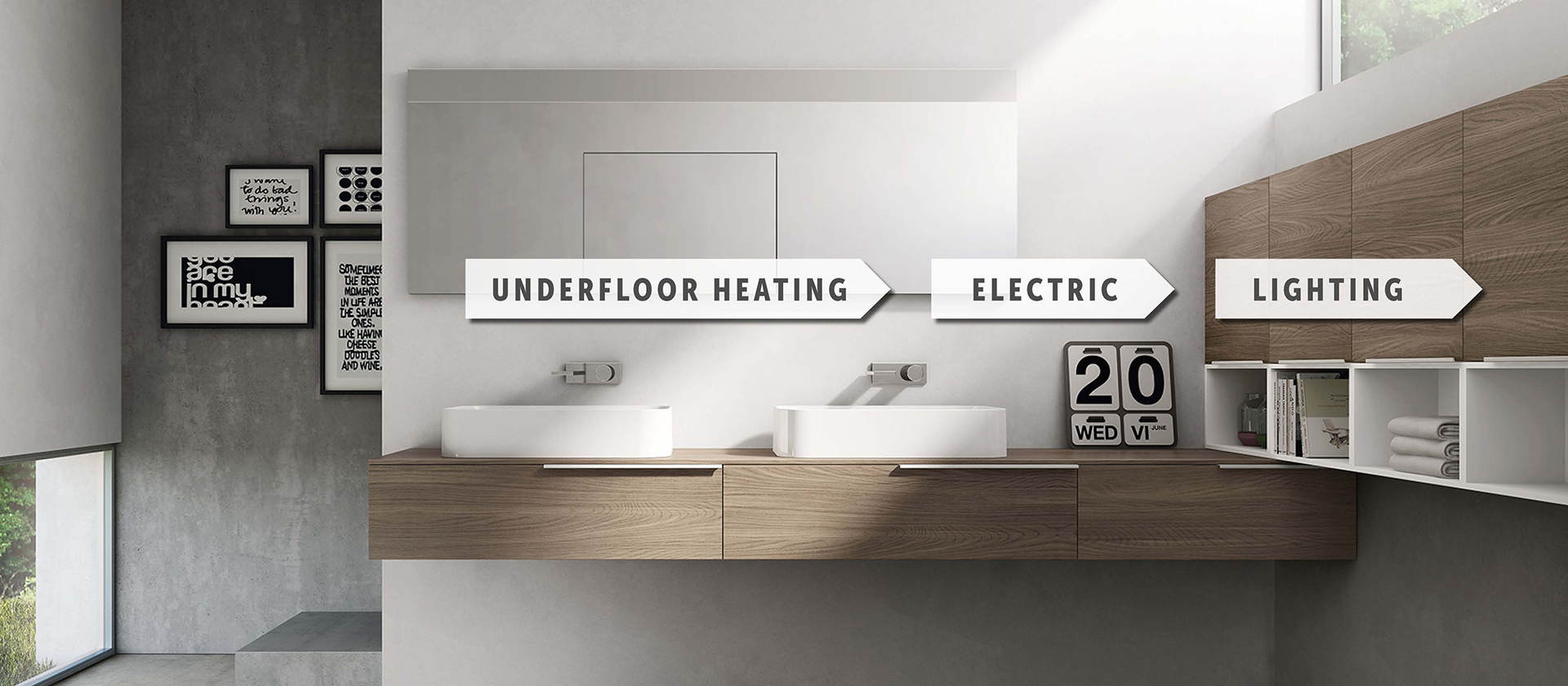 Underfloor Heating, Electric, Lighting
